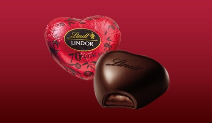 LINDOR Hearts 70% Cocoa
