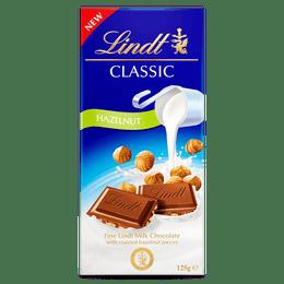 Lindt CLASSIC Milk Hazelnut 125g