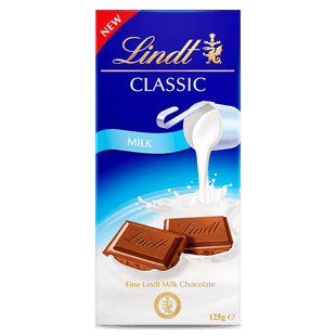 Lindt CLASSIC Milk 125g