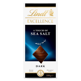 Lindt EXCELLENCE A Touch of Sea Salt 100g