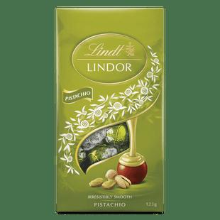 Lindt LINDOR Pistachio Bag 123g