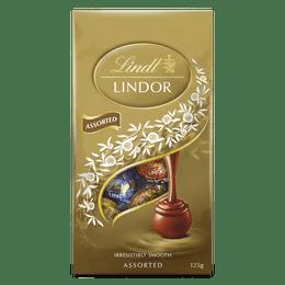 Lindt LINDOR Assorted Bag 125g