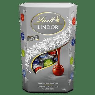 Lindt LINDOR Limited Edition Assorted Cornet 333g