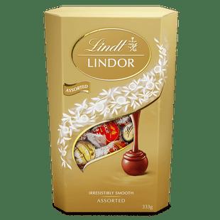 Lindt LINDOR Assorted Cornet 333g