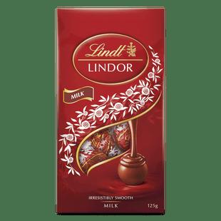Lindt LINDOR Milk Bag 125g