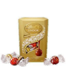 Lindt LINDOR Assorted Cornet 197g