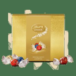 Lindt LINDOR Assorted Gift Box 150g