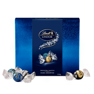 Lindt LINDOR Dark Assorted Gift Box 150g