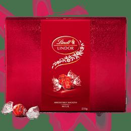 Lindt LINDOR Milk Gift Box 235g