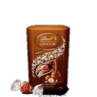 Lindt LINDOR Hazelnut Cornet 197g