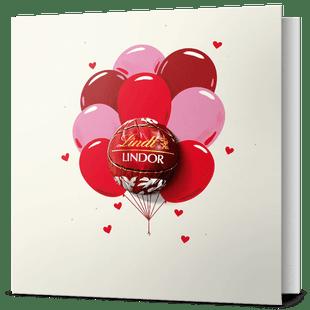 LINDOR Love Greeting Card 12.5g