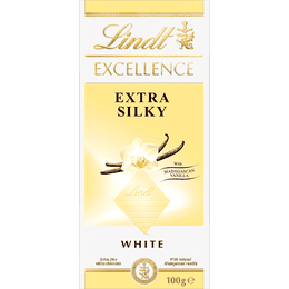Lindt EXCELLENCE Extra Silky White 100g