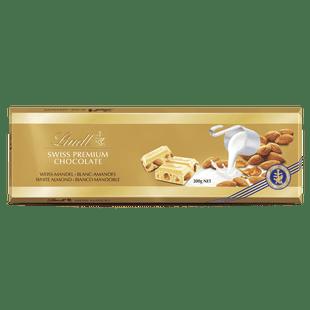 Lindt White Almond GOLD BLOCK 300g