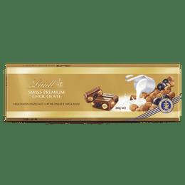 Lindt Milk Raisin Hazelnut GOLD BLOCK 300g